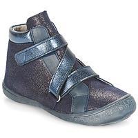 Boty Dívčí Kotníkové boty Citrouille et Compagnie HISSOU Modrá