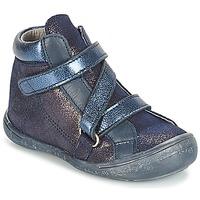 Boty Dívčí Kotníkové boty Citrouille et Compagnie JISSOU Modrá
