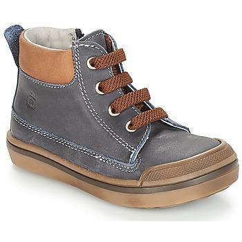 Boty Chlapecké Kotníkové boty Citrouille et Compagnie JIK Modrá