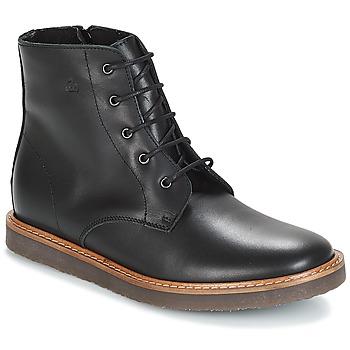 Boty Děti Kotníkové boty Citrouille et Compagnie JENKI Černá