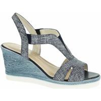 Boty Ženy Sandály Rejnok Dovoz Dámské sandály EW 7611 jeans Modrá