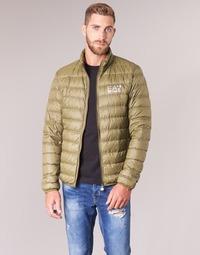 Textil Muži Prošívané bundy Emporio Armani EA7 TRAIN CORE ID M DOWN LIGHT Hnědá