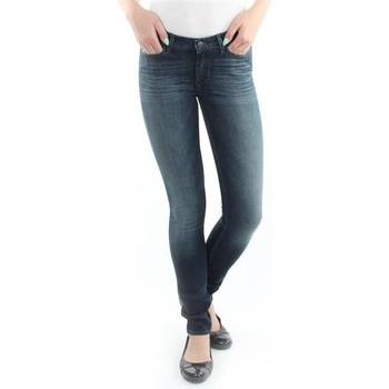 Textil Ženy Rifle skinny Wrangler Jeans  Jaclyn  Dark Lake W26DU468Y blue