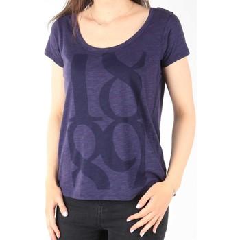 Textil Ženy Trička s krátkým rukávem Lee T-Shirt  Scoop Mystic Plum 40KFL87 blue