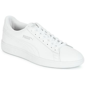 Boty Muži Nízké tenisky Puma PUMA SMASH V2 L Bílá
