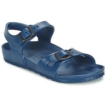 Boty Děti Sandály Birkenstock RIO EVA Tmavě modrá