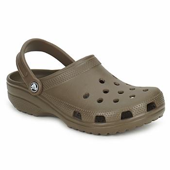 Crocs Pantofle CLASSIC CAYMAN - Hnědá
