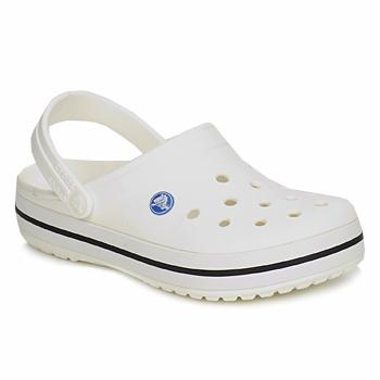 Boty Pantofle Crocs CROCBAND Bílá