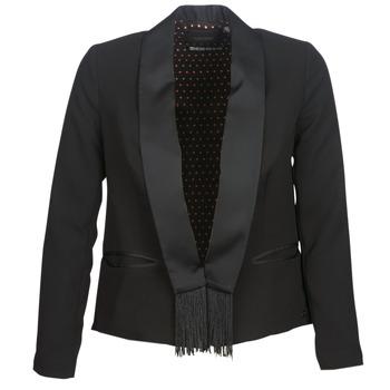 Textil Ženy Saka / Blejzry Maison Scotch BOUKOUM Černá