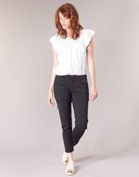 Textil Ženy Cargo trousers  Maison Scotch ZERATRE Černá / Bílá