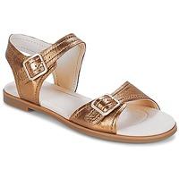 Boty Ženy Sandály Clarks Bay Primrose Bronzová / Metalíza