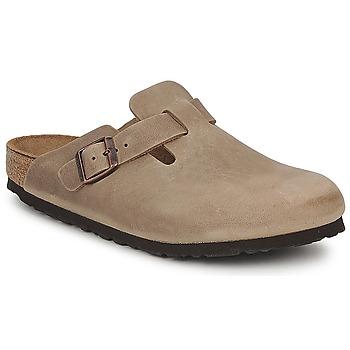 Boty Pantofle Birkenstock BOSTON PREMIUM Hnědá