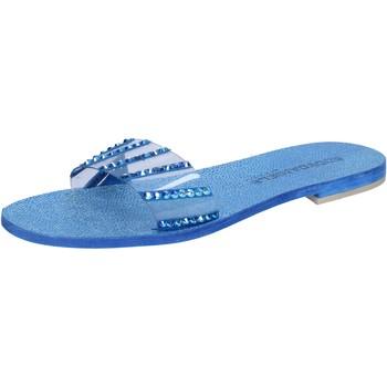 Boty Ženy Sandály Eddy Daniele Sandály AW491 Modrý