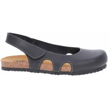 Boty Ženy Dřeváky Rejnok Dovoz Bio Life dámské sandály 0837. 964-01 Riva schwarz Černá