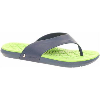 Boty Muži Žabky Rider Pánské plážové pantofle  82208 23563 blue-green Modrá