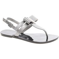 Boty Ženy Sandály Zaxy Plážové sandály  dámské 17201 90288 glitter black Černá