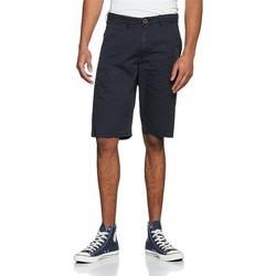 Textil Muži Kraťasy / Bermudy Wrangler Chino Shorts W14MLL49I navy