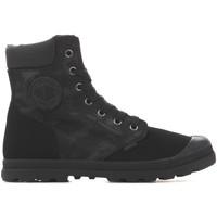 Boty Ženy Kotníkové boty Palladium Pampa HI Knit LP Camo 95551-008 black