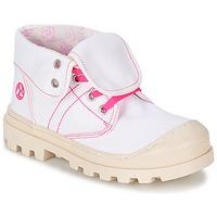 Boty Dívčí Kotníkové boty Citrouille et Compagnie BASTINI Bílá