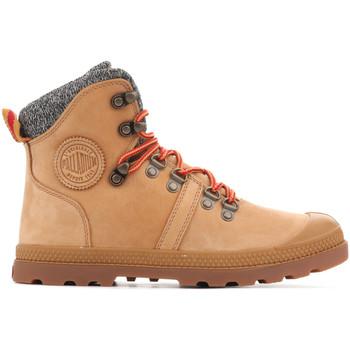 Boty Ženy Kotníkové boty Palladium Manufacture Pallabrouse Hikr 95140-278 brown