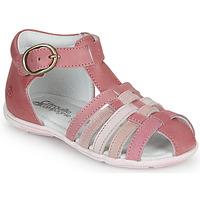 Boty Dívčí Sandály Citrouille et Compagnie VISOTU Růžová / Vícebarevná