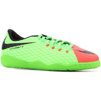 Boty Děti Sandály Nike JR Hypervenomx Phelon III IC 852600 308 green, orange