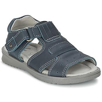 Boty Chlapecké Sandály Citrouille et Compagnie DERFO Tmavě modrá