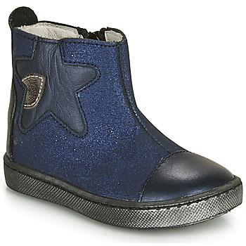 Boty Dívčí Kotníkové boty GBB LIAT Tmavě modrá