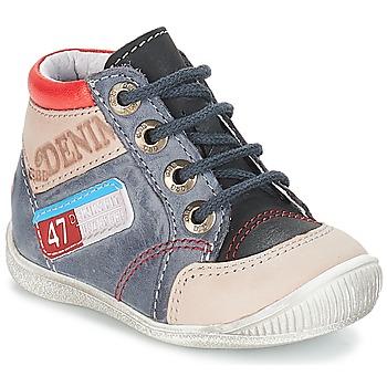 Boty Chlapecké Kotníkové boty GBB PANCRACE šedá - jeans