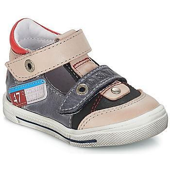 Boty Chlapecké Nízké tenisky GBB PEPINO šedá - jeans