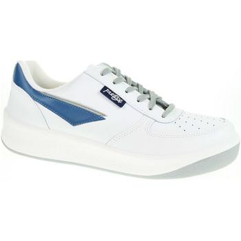 Boty Muži Nízké tenisky Rejnok Dovoz Pánská obuv Prestige 86808-10 bílá Bílá
