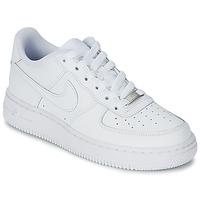 Boty Děti Nízké tenisky Nike AIR FORCE 1 Bílá