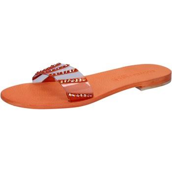 Boty Ženy Sandály Eddy Daniele Sandály AW449 Oranžový