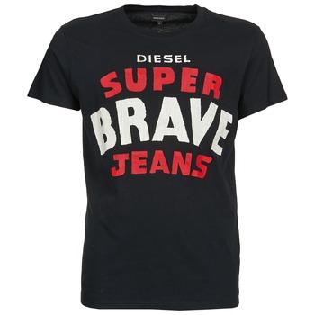 Textil Muži Trička s krátkým rukávem Diesel T-ASTERIOS Černá