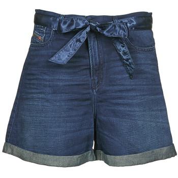 Textil Ženy Kraťasy / Bermudy Diesel DE-KAWAII Modrá