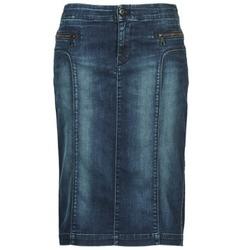 Textil Ženy Sukně Diesel DE-TRENKER Modrá