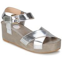 Boty Ženy Sandály RAS NIOBE Stříbřitá