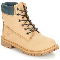 Boty Děti Kotníkové boty Timberland 6 In Premium WP Boot Kávová