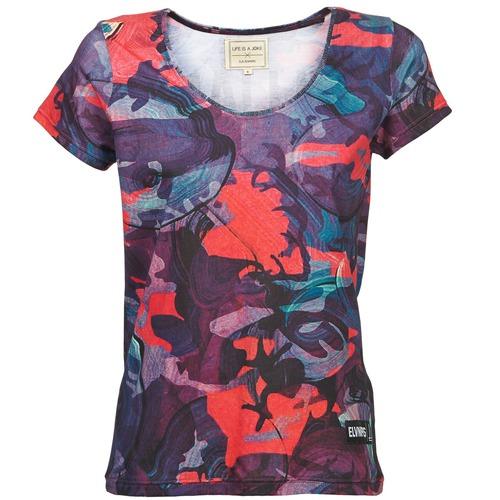 Textil Ženy Trička s krátkým rukávem Eleven Paris HAREL Vícebarevná