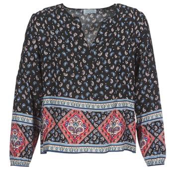Textil Ženy Halenky / Blůzy Casual Attitude WASAS Černá / Vícebarevná