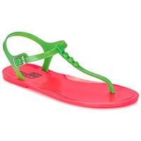 Boty Ženy Sandály Love Moschino JA16381G0KJN180A Zelená / Růžová