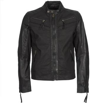 Textil Muži Kožené bundy / imitace kůže Redskins DRAKE Černá