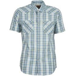 Textil Muži Košile s krátkými rukávy Levi's WOVENS Modrá