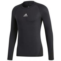 Textil Muži Trička s krátkým rukávem adidas Originals Alphaskin Sport LS Černá