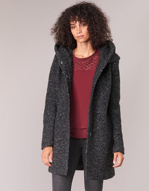 Textil Ženy Kabáty Only ONLSEDONA Černá