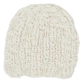 Textilní doplňky Ženy Čepice André MARGUERITE Krémově bílá