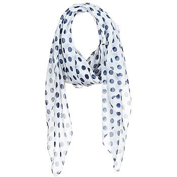 Textilní doplňky Ženy Šály / Štóly André INGRID Krémově bílá / Tmavě modrá