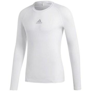 Textil Muži Trička s dlouhými rukávy adidas Originals Alphaskin Sport LS Bílá