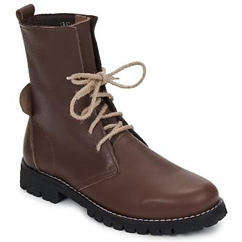 Boty Ženy Kotníkové boty Swamp BIKE Hnědá