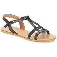 Boty Ženy Sandály So Size DURAN Černá